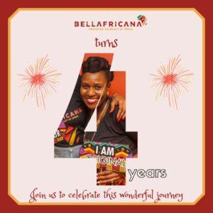 Bellafricana Turns 4!