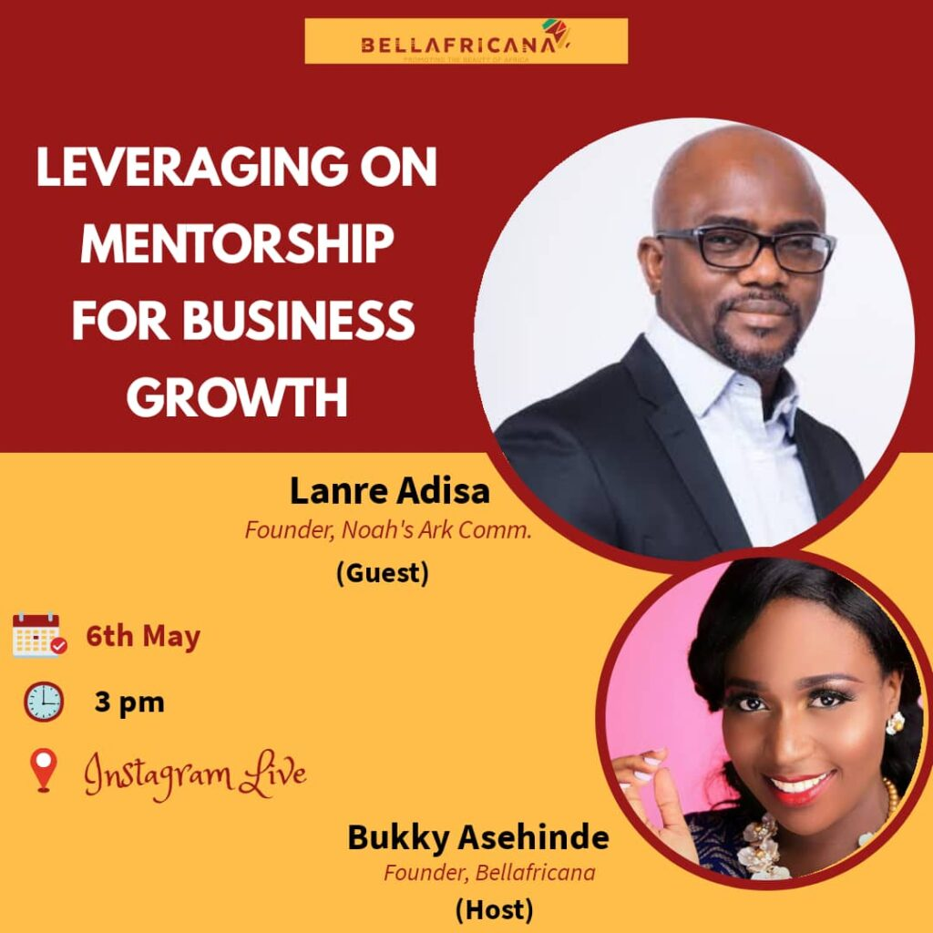Bellafricana webinar session with Lanre Adisa