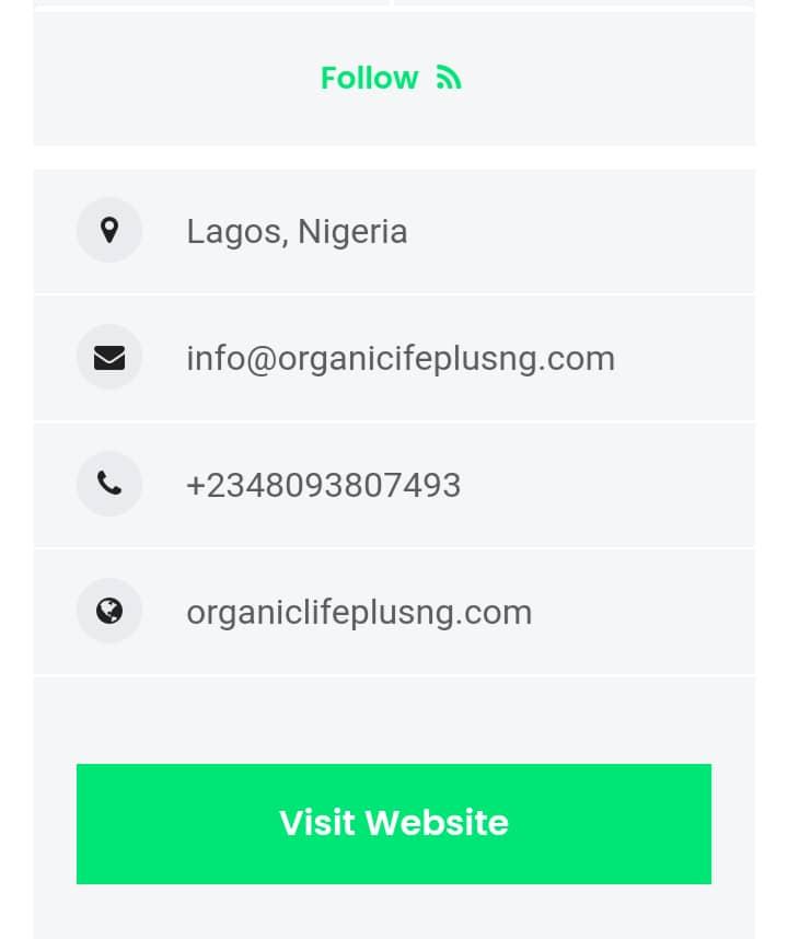 Organic life plus view listing
