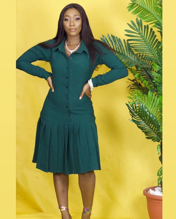 The Titi Dress by Tahiry Teniola Clothings