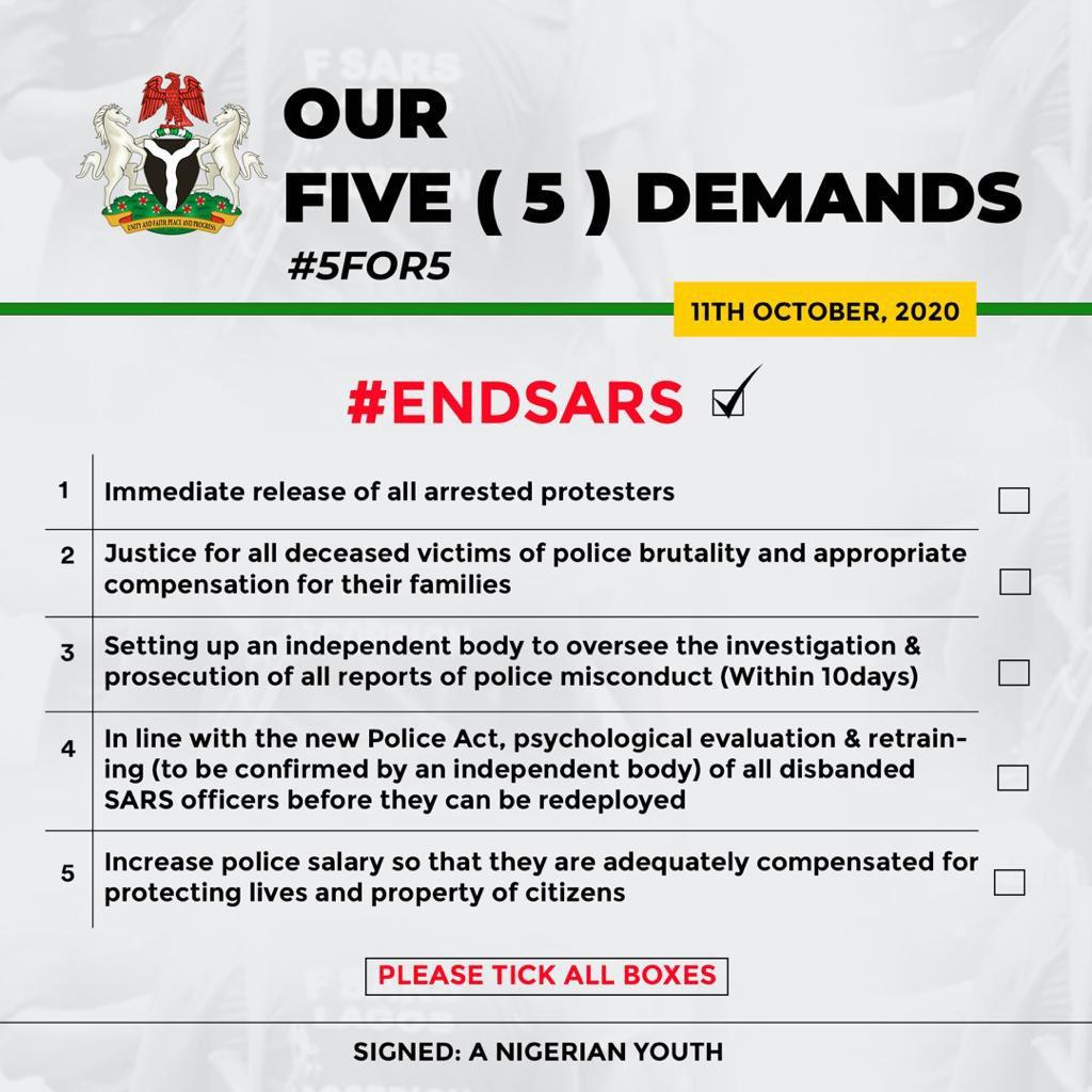 5 Point Demand