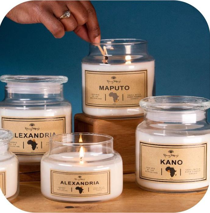 Scented candles-Home Fragrances by Young Marys